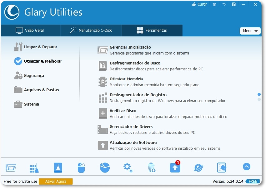 Glary Utilities - Imagem 2 do software
