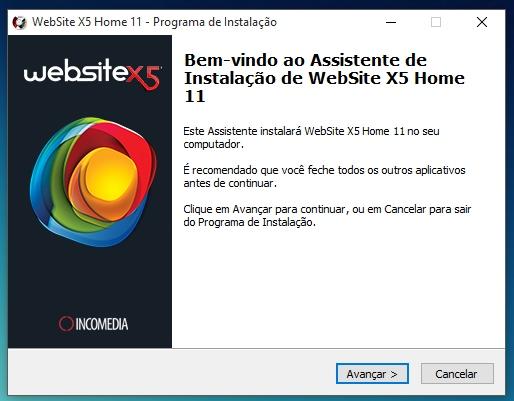 WebSite X5 Home 11 - Imagem 2 do software