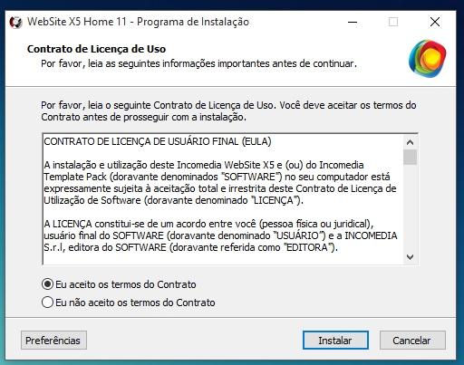 WebSite X5 Home 11 - Imagem 3 do software