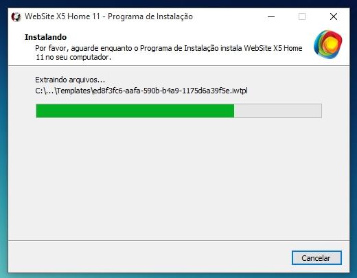 WebSite X5 Home 11 - Imagem 4 do software