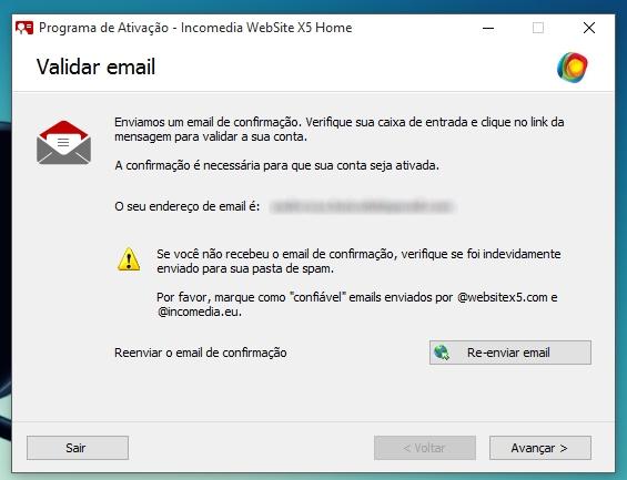 WebSite X5 Home 11 - Imagem 8 do software