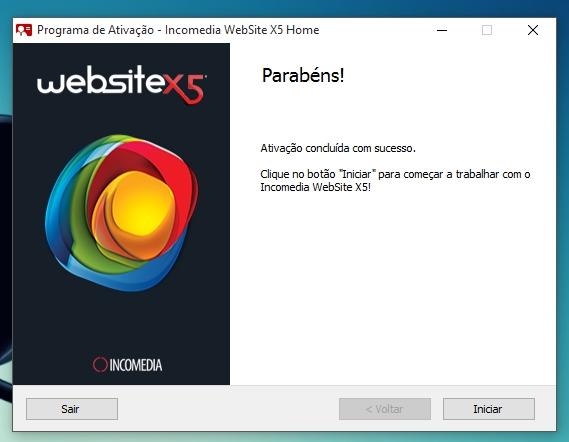 WebSite X5 Home 11 - Imagem 9 do software
