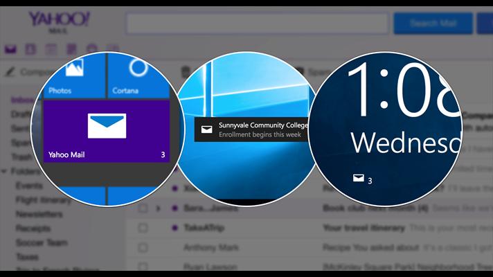 Yahoo Mail para Windows 10 - Imagem 1 do software