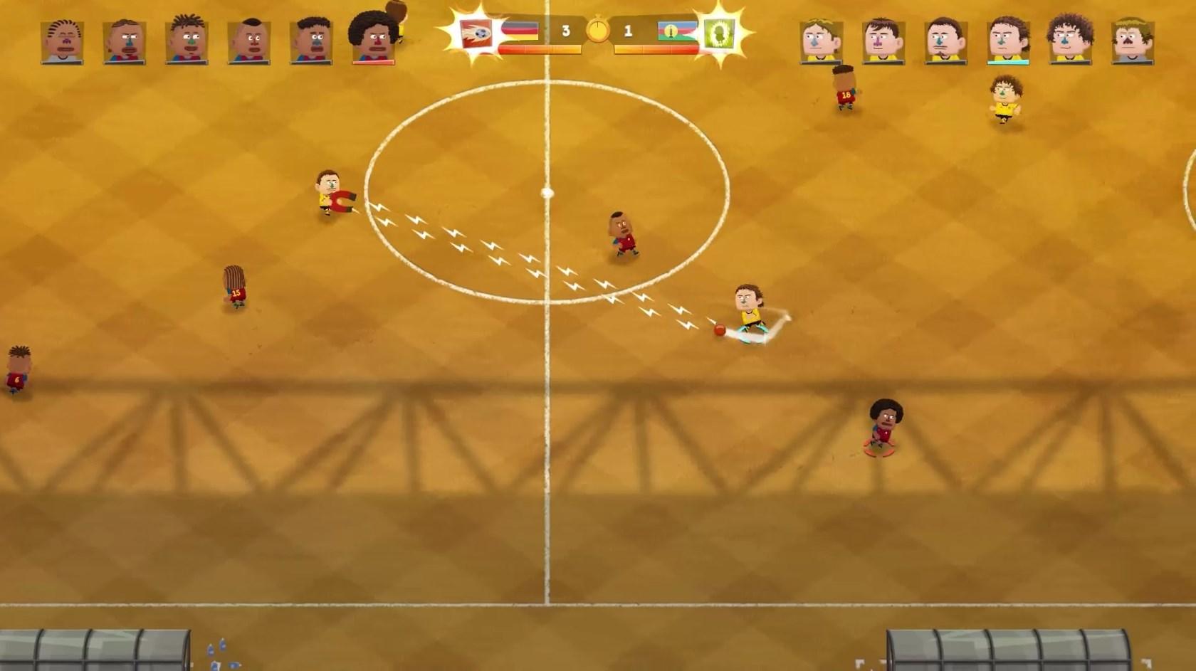 Kopanito All-Stars Soccer - Imagem 3 do software