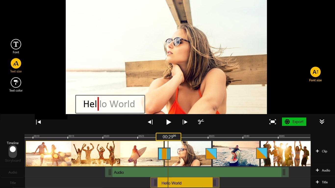 Movie Edit Touch - Imagem 1 do software