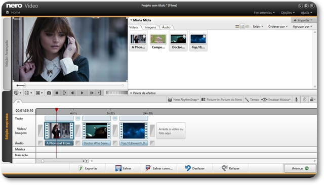 Nero Platinum - Imagem 3 do software