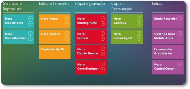 Nero Platinum - Imagem 1 do software