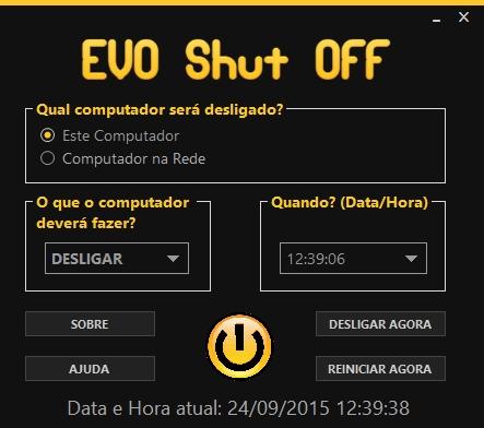 EVO Shut Off - Imagem 1 do software