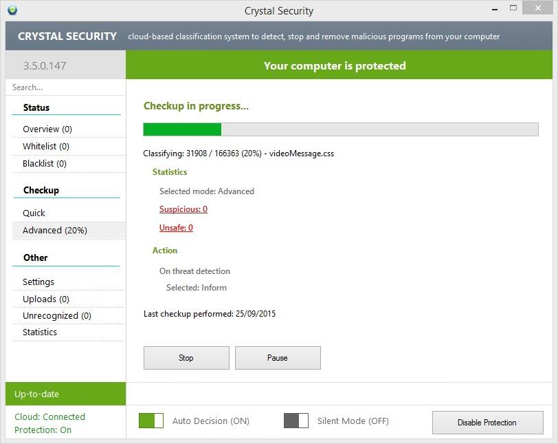 Crystal Security Portable - Imagem 1 do software