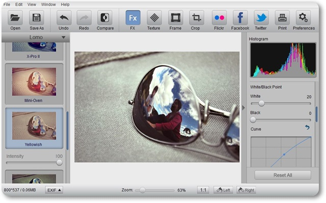 Photo Effect Studio Pro - Imagem 1 do software