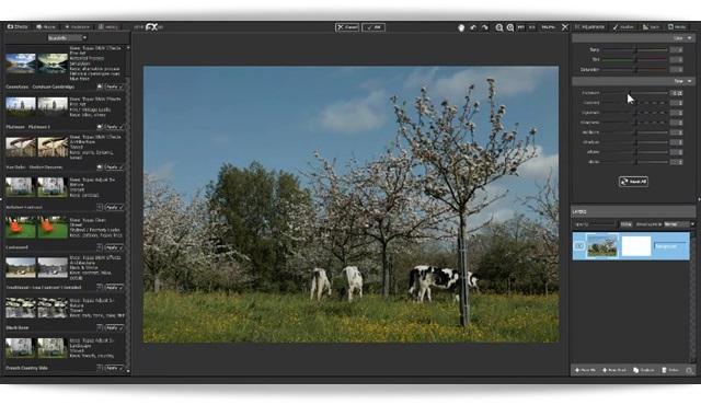 Topaz photoFXLab - Imagem 1 do software
