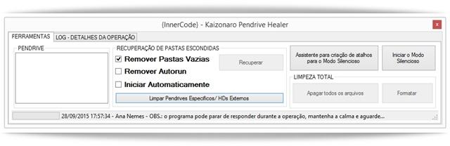 Pendrive Healer - Imagem 1 do software