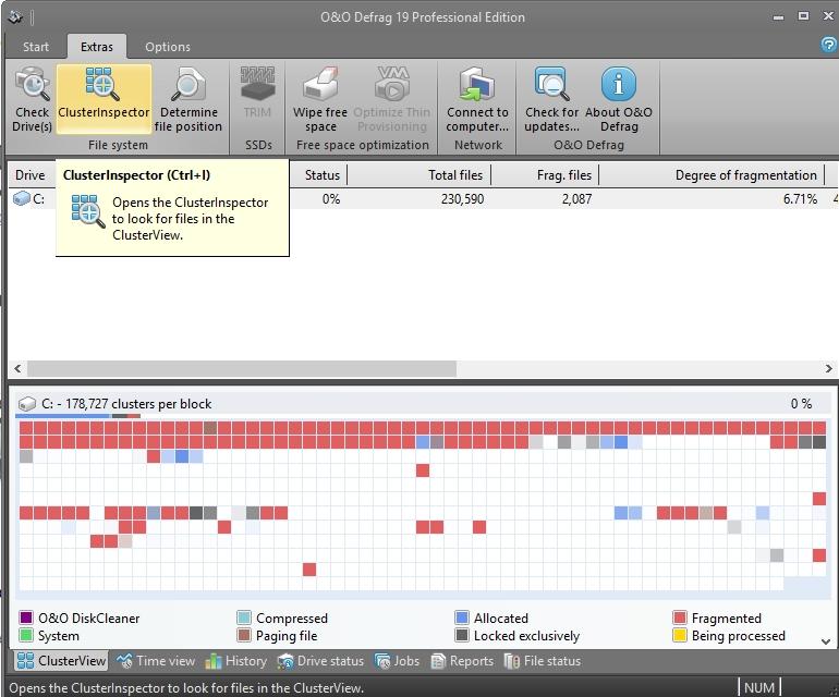 O&O Defrag - Imagem 2 do software