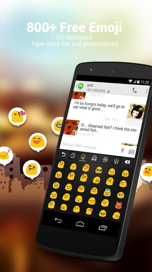 GO Keyboard - Emoji, Emoticons - Imagem 2 do software
