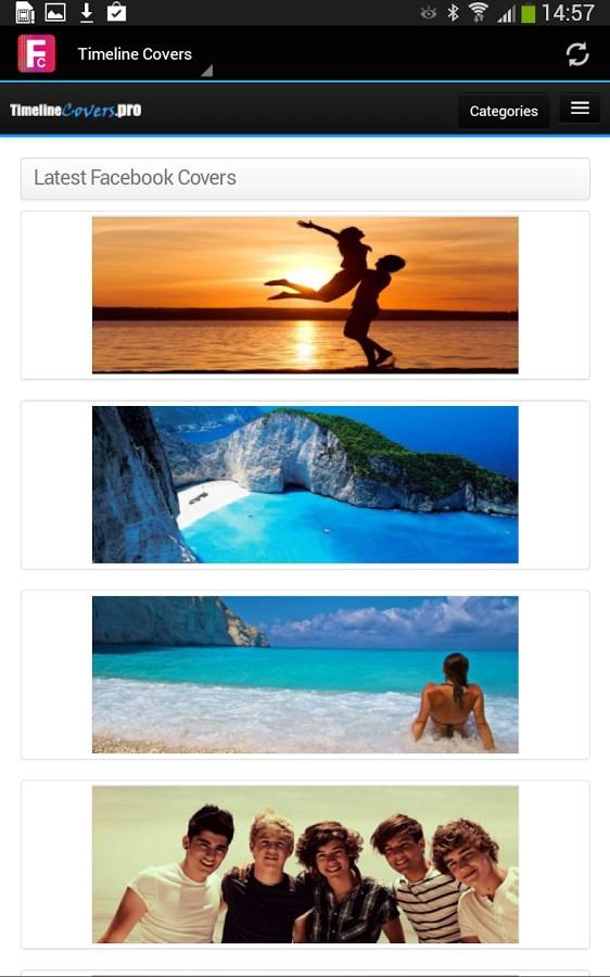 Capas para o Facebook - Imagem 1 do software