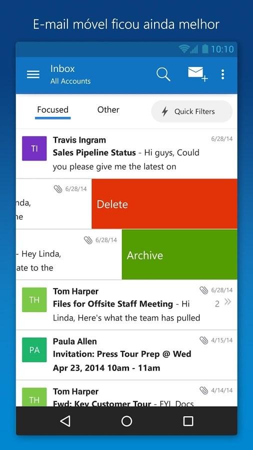 Microsoft Outlook - Imagem 1 do software