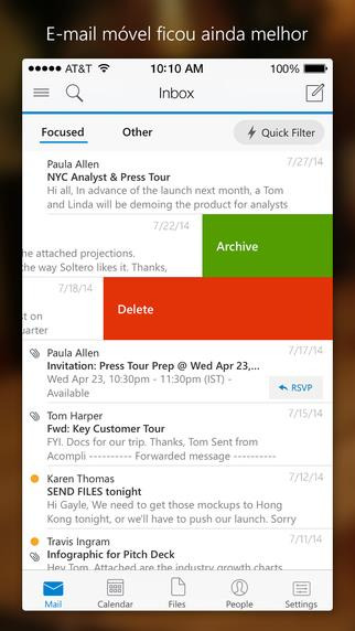 Microsoft Outlook - Imagem 2 do software
