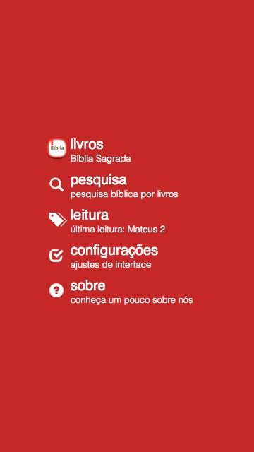 Bíblia Sagrada Almeida - Imagem 1 do software