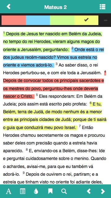 Bíblia Sagrada Almeida - Imagem 2 do software
