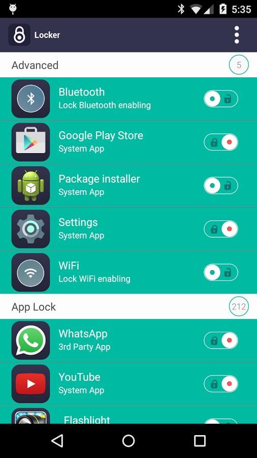 App Lock by AJK - Imagem 2 do software