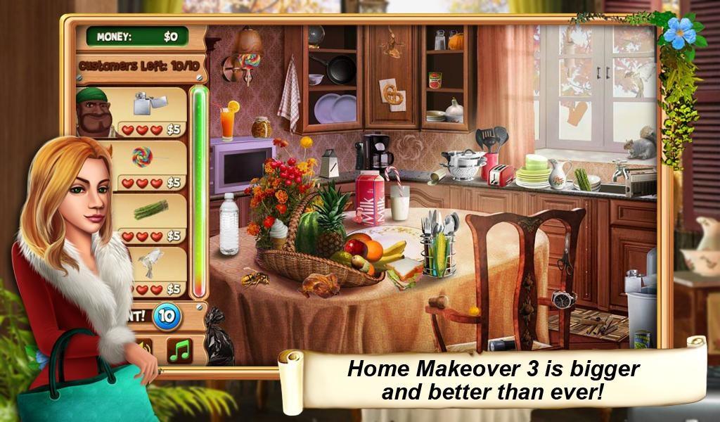 Home Makeover 3 Hidden Object - Imagem 1 do software