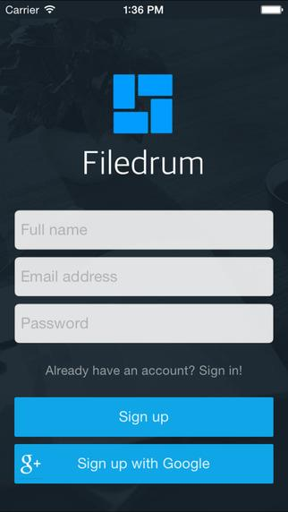Filedrum - Imagem 1 do software