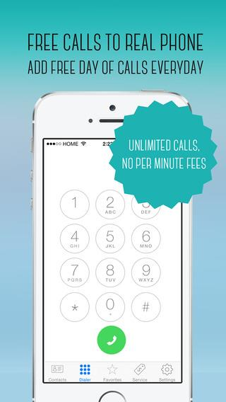 Call+ FREE unlimited calls to REAL phones - Imagem 1 do software