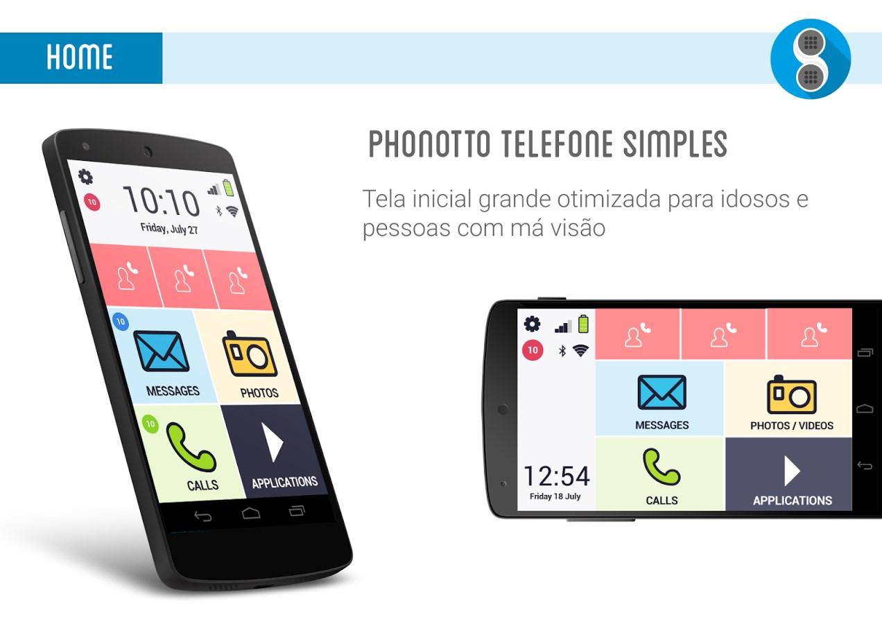 Phonotto - Telefone para Idosos - Imagem 1 do software