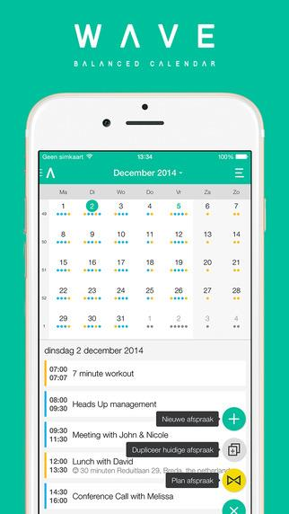 WAVE Calendar - Imagem 2 do software