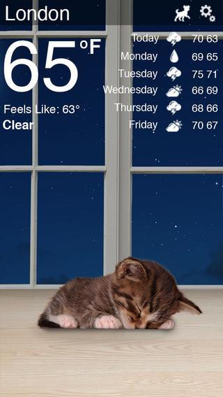 Weather Kitty - Imagem 2 do software