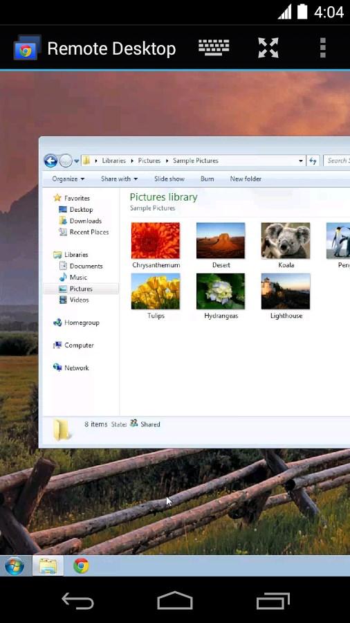 Chrome Remote Desktop - Imagem 1 do software