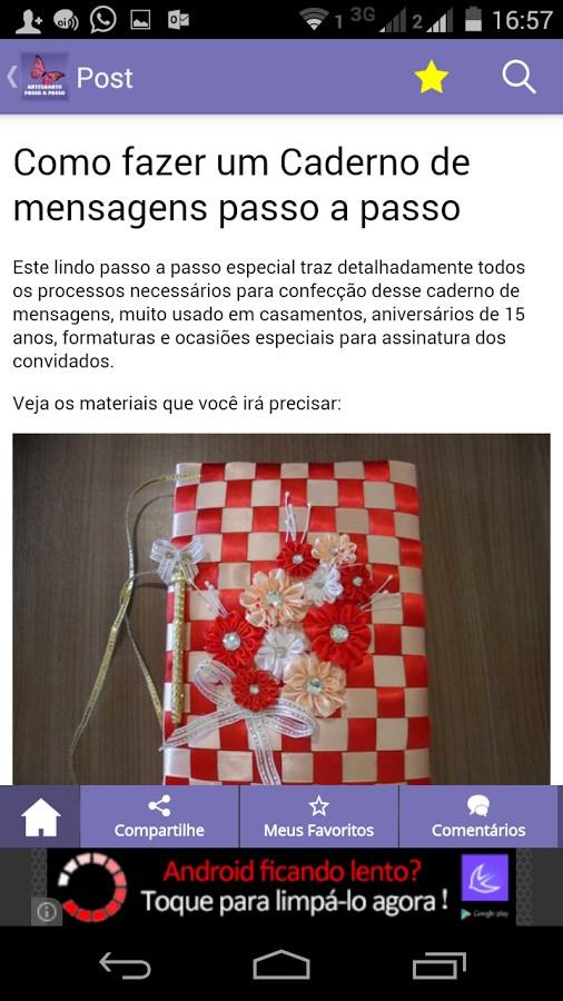 Artesanato Passo a Passo Já! - Imagem 2 do software