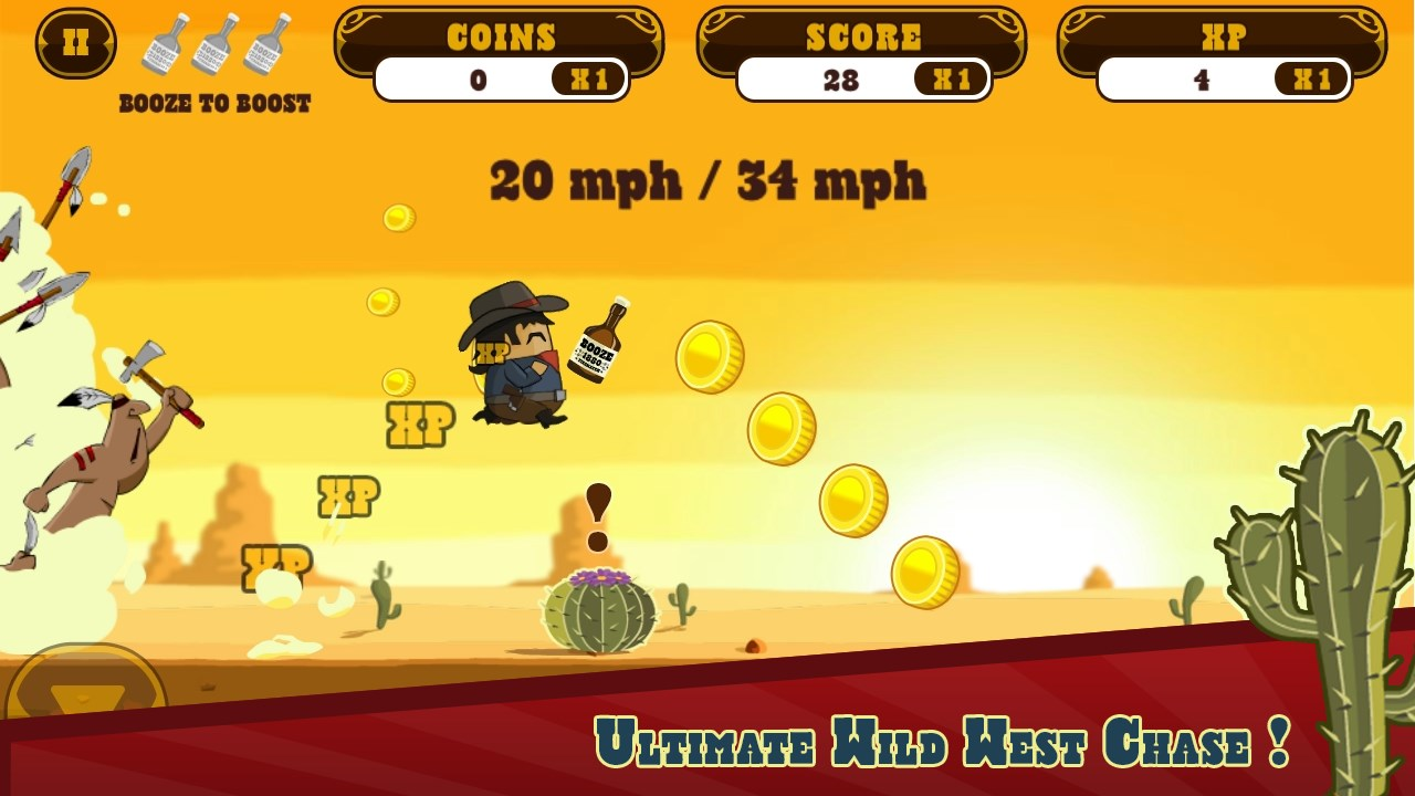 Firewater Cowboy Chase - Imagem 1 do software
