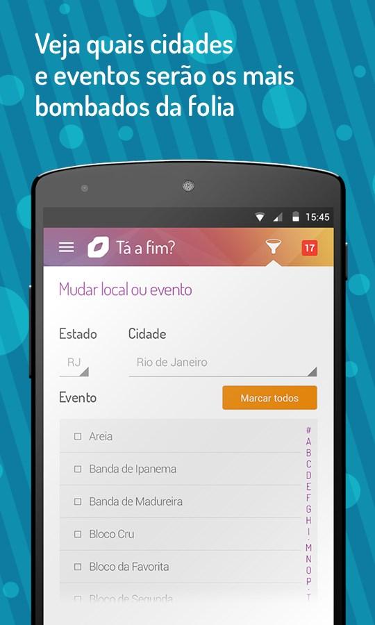 Beija Eu chat do Carnaval 2015 - Imagem 1 do software
