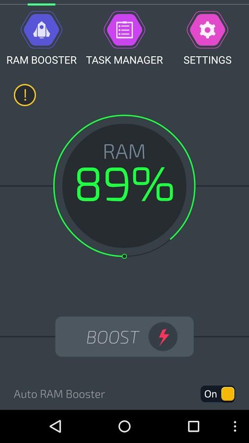 RAM Booster Ultimate - Imagem 1 do software