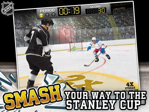 NHL Hockey Target Smash - Imagem 1 do software