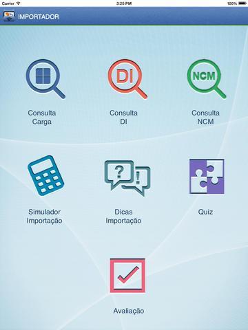 Importador - Imagem 1 do software
