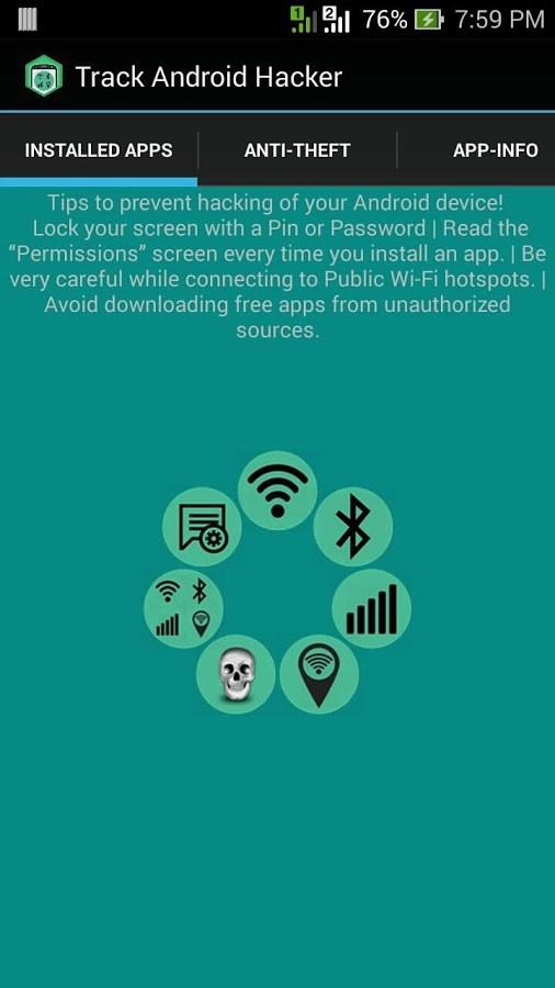 Track Android Hacker Free - Imagem 1 do software