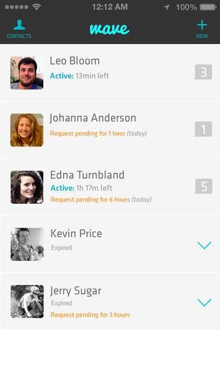 Wave - Private Location App - Imagem 1 do software