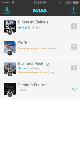 Wave - Private Location App - Imagem 4 do software