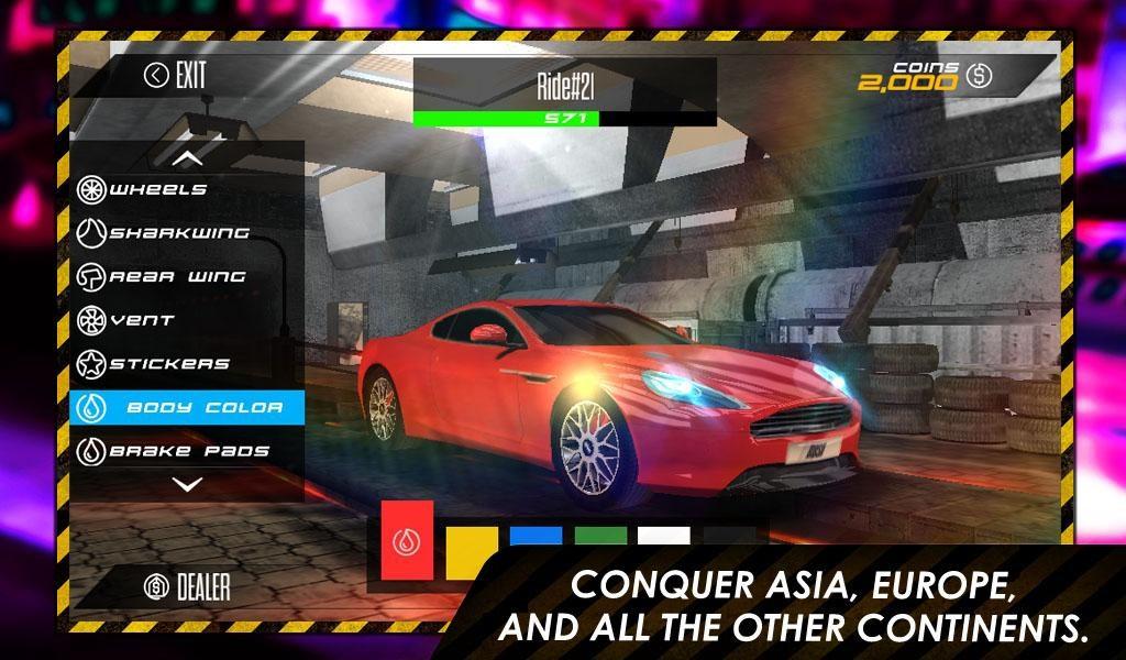 Drag Race: Rush - Imagem 1 do software