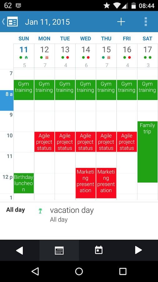 Blend Calendar - Imagem 2 do software