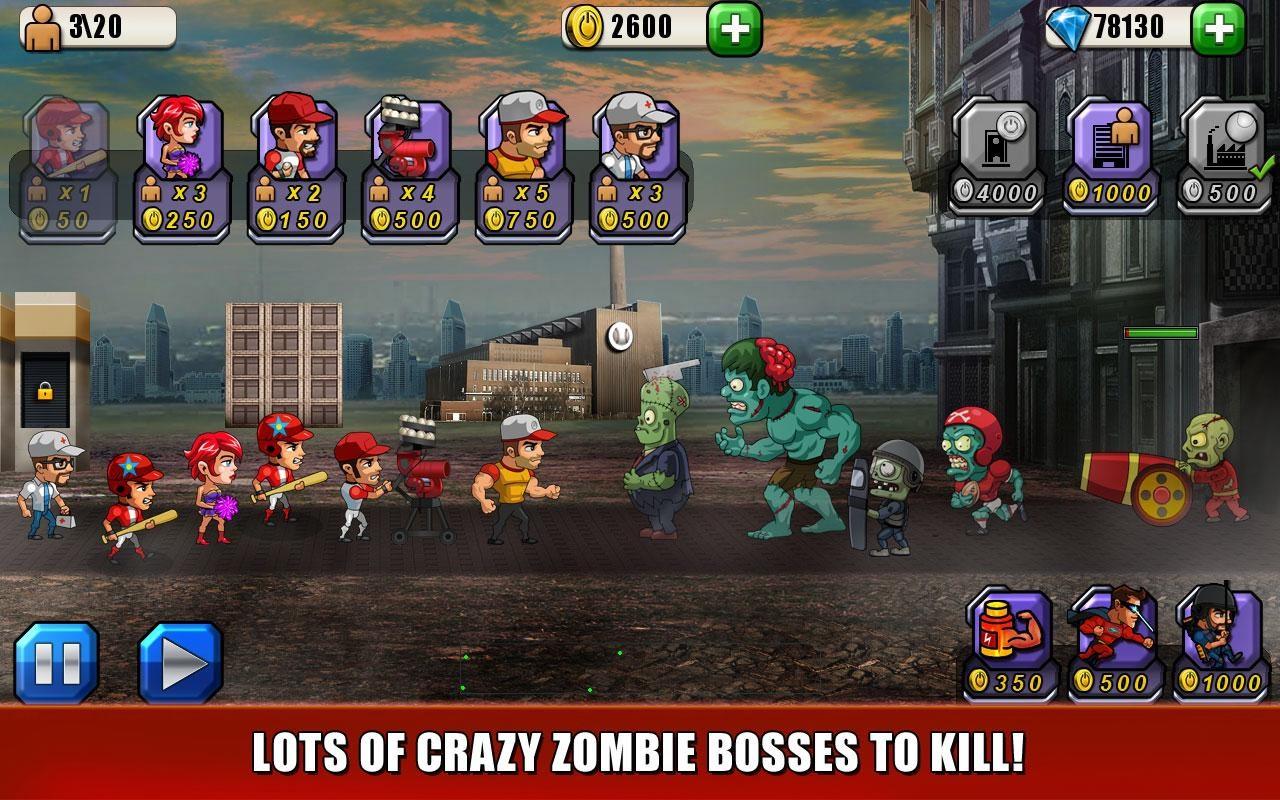Baseball Vs Zombies Returns - Imagem 1 do software