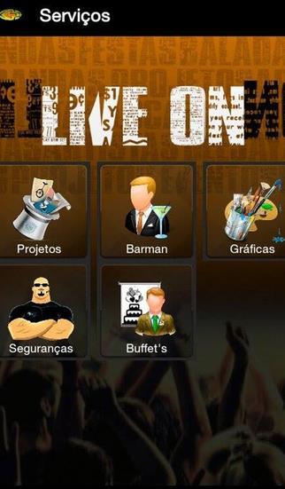 LIVE ON SP - Imagem 1 do software