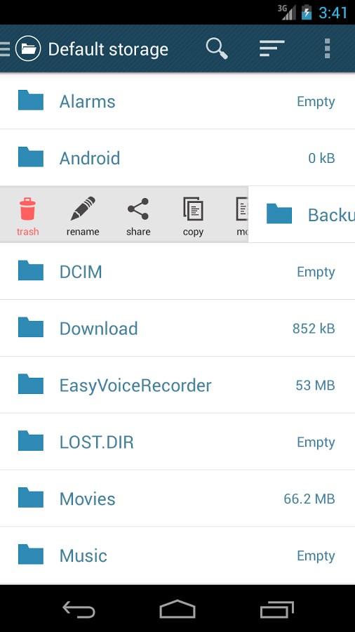 Easy File Manager (beta) - Imagem 2 do software
