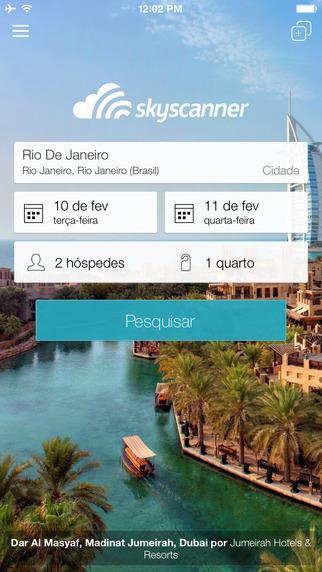 Skyscanner - Compare hotéis e acomodações - Imagem 1 do software