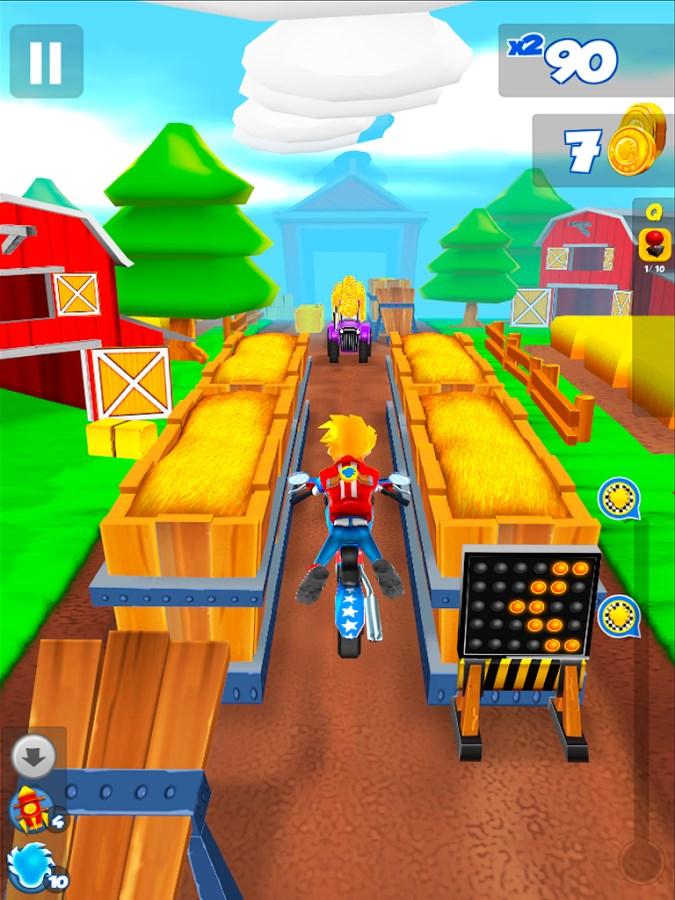 Get Ghost! Stunt Bike Runner - Imagem 1 do software