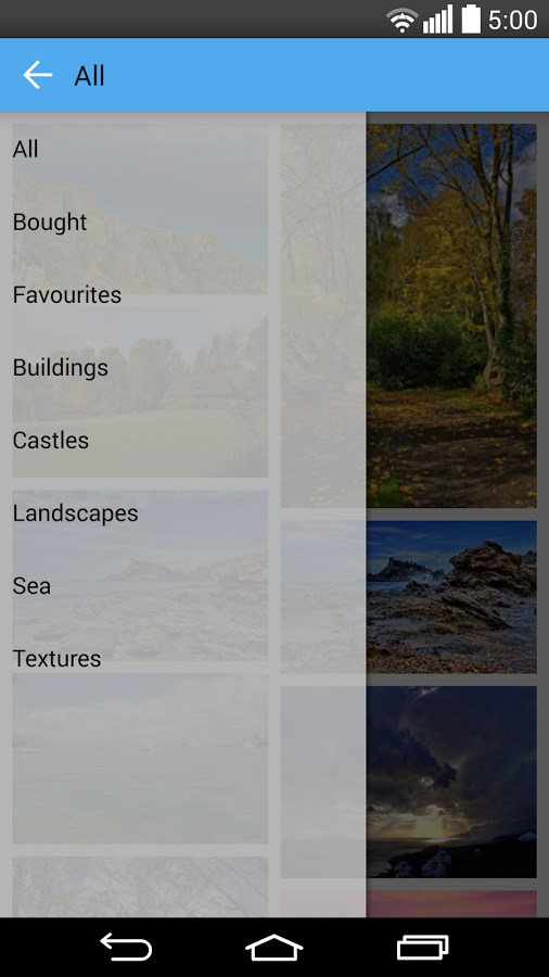Wallpapers HD / QHD - Imagem 1 do software