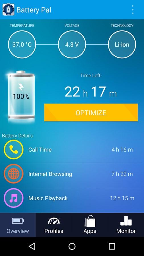 Battery Pal (2X Saver) - Imagem 1 do software
