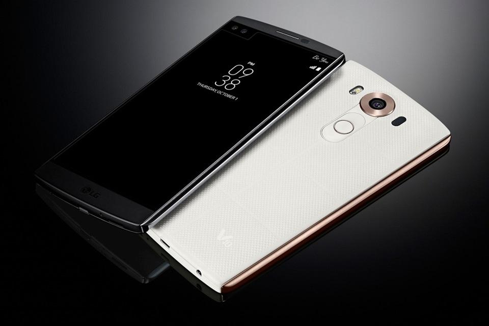 Novo LG V10 tem segunda tela, duas câmeras frontais e muito mais